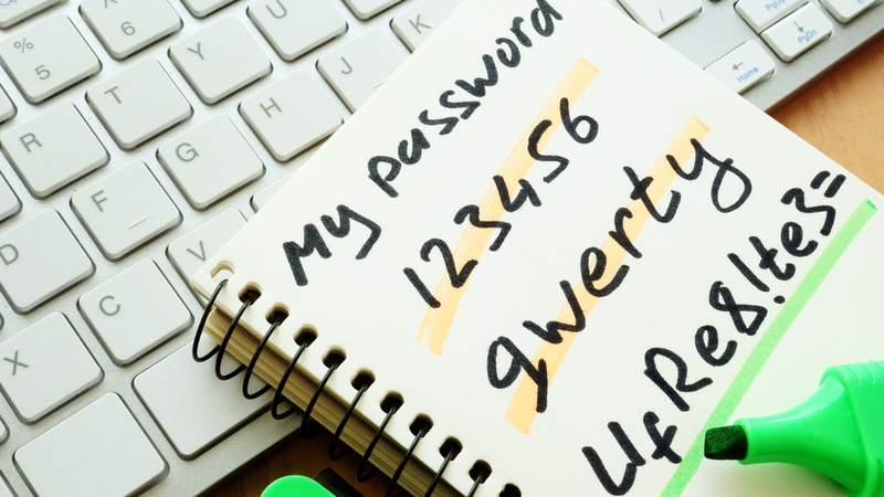 Are you using one of the 25 worst passwords of 2018?
