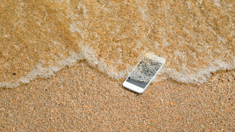 Dropped Your Phone in Water? Here's What to Do Next